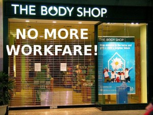 On 1st June, Body Shop announced it would no longer participate in workfare