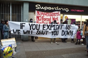 Edinburgh Coalition Against Poverty challenge Superdrug replacing paid staff with workfare