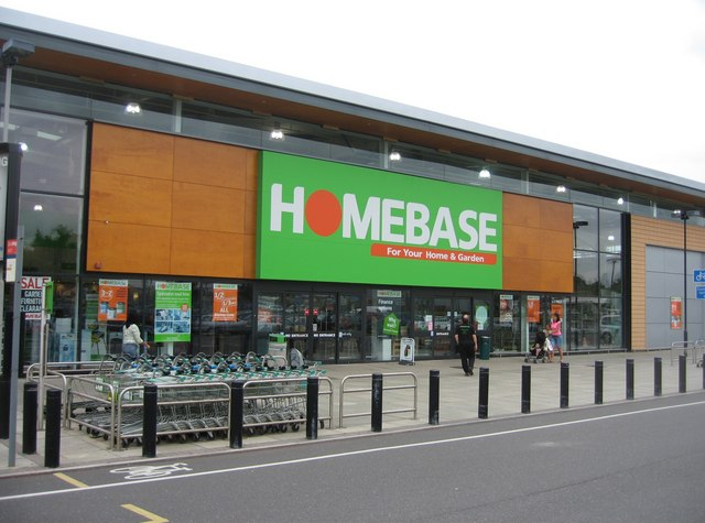 UK home improvement retailer Homebase suffered a decline in sales