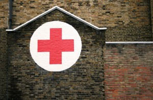 The Red Cross suspended workfare after just a few people got in touch! What you are doing works :) [Photo: Andy Wilkes]