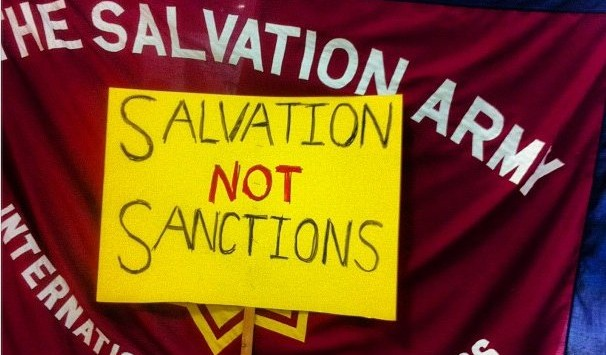 Image for Sanction the Salvation Army