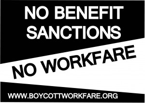 No Benefit Sanctions No Workfare