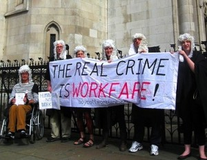 Boycott Workfare at the beginning of the workfare case.