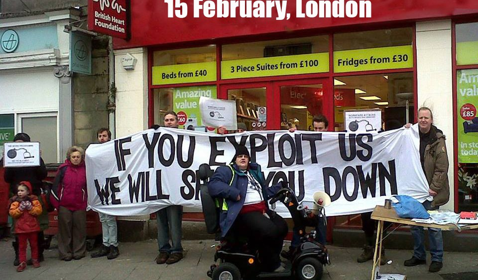 Image for Come to the Welfare Action Gathering on 15th February!