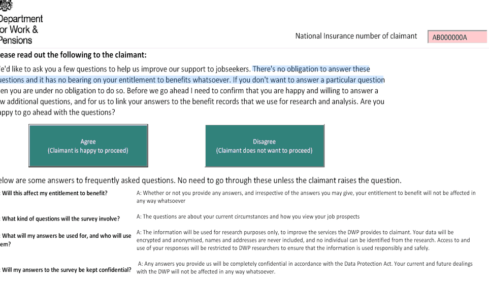 Image for Claimant Segmentation Survey – The facts & your rights