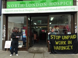 North London Hospice shop