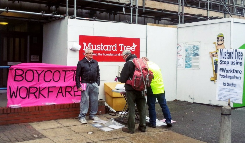 Image for Mustard Tree: from workfare exploiter to workfare refuser