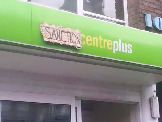 Image for Day of Action against Sanctions, Workfare & cuts to ESA