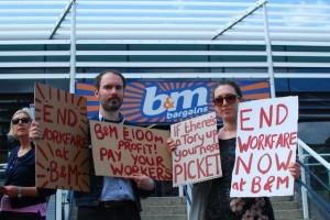 Tales of unpaid toil: workfare continues at B&M