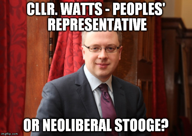 Image for What's What Councillor Watts? An open letter from Mental Health Resistance Network to Richard Watts